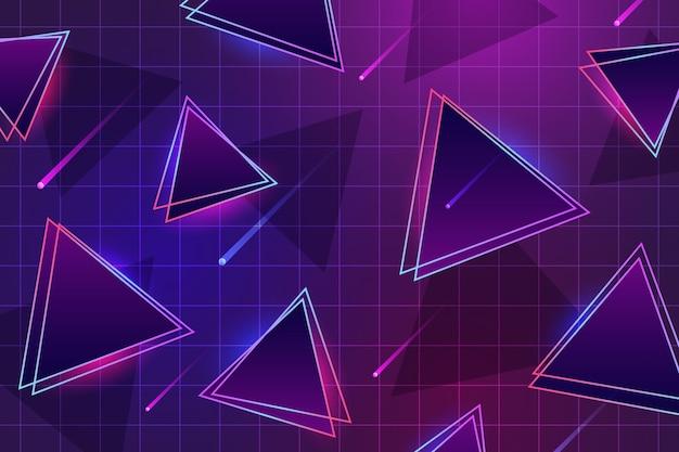 80's geometrische achtergrond