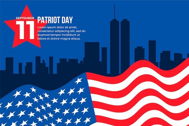9.11 patriot dag achtergrond