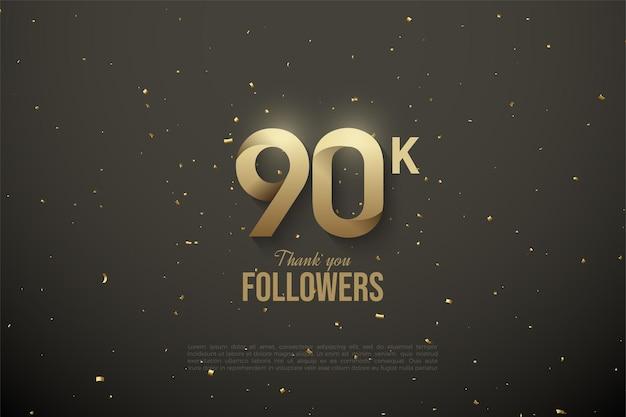90.000 volgers met patroonnummers.