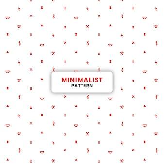 96.rode minimalistische patroonachtergrond eps.10