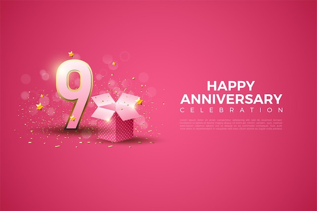 9e verjaardag