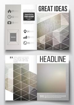 A4 ontwerpsjablonen voor brochure