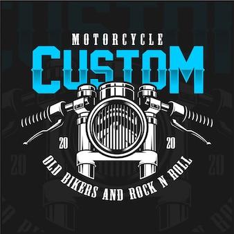 Aangepaste motorfiets