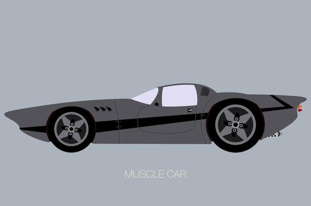 Aangepaste muscle car