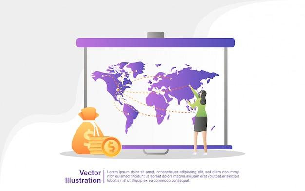 Aankondiging van aandacht, digitale marketing, public relations, reclamecampagne, bedrijfspromotie.