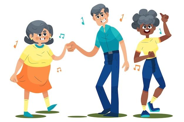 Aantal actieve ouderen