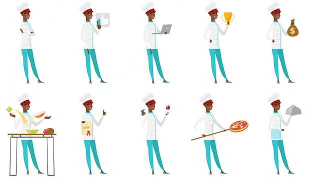 Aantal chef-koks.