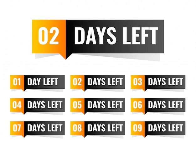 Aantal dagen dat de sticker is ontworpen
