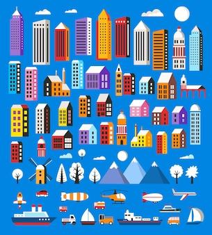 Aantal huizen en objecten