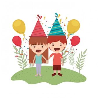 Aantal kinderen in verjaardagsviering