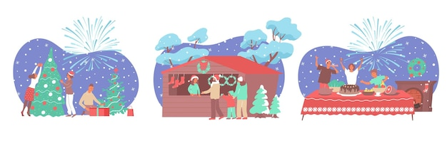 Aantal mensen die kerstmis vieren