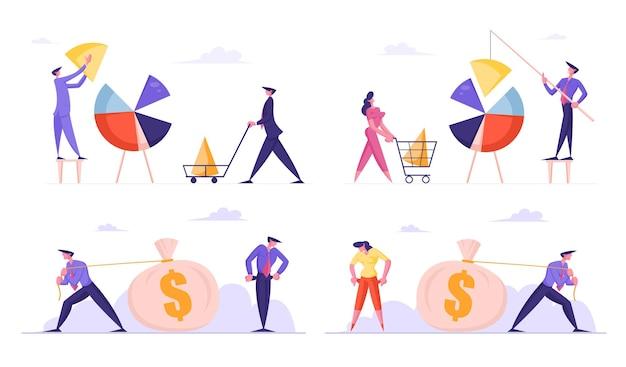 Aantal ondernemers cirkeldiagram instellen