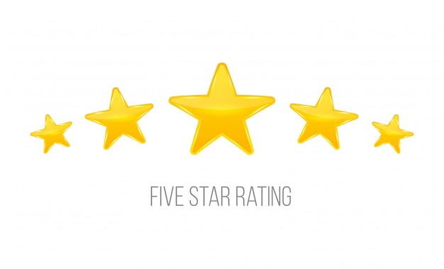 Aantal sterren. stem zoals rangschikken.