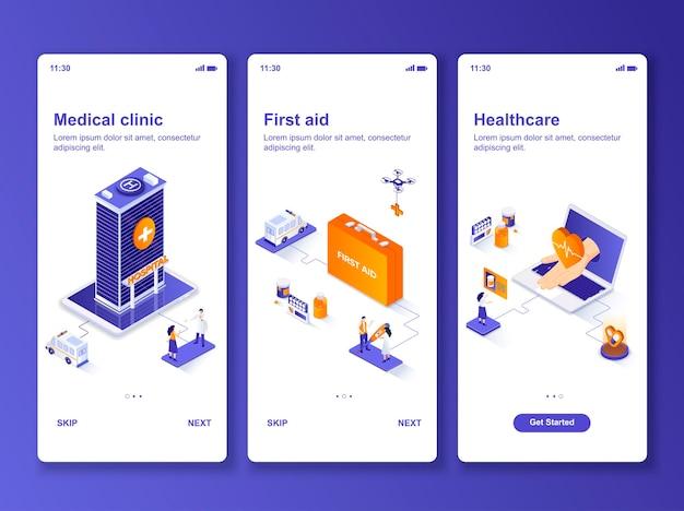 Aantal toepassingen medische kliniek isometrisch