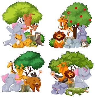 Aantal wilde dieren