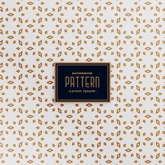 Aantrekkelijke islamitische stijl wit en goud patroon achtergrond