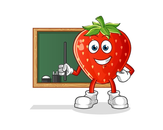 Aardbei leraar