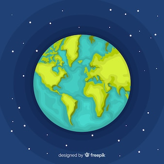 Aarde achtergrond