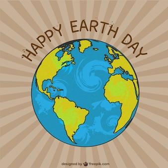 Aarde dag vector afbeelding