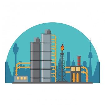 Aardoliemachinefabriek