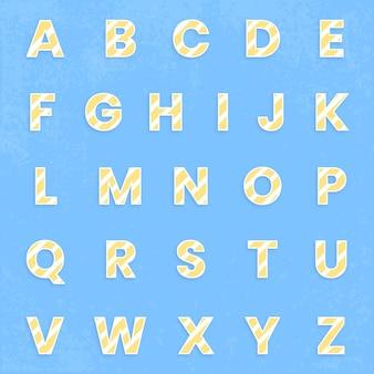 Abc-lettertypeset