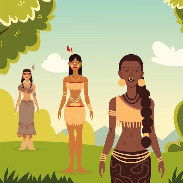 Aboriginal en inheemse meisjes