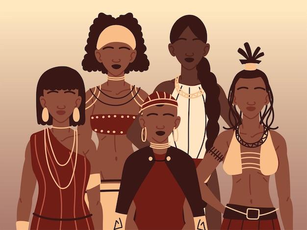 Aboriginals tribale kleding