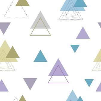 Absctract scandinavisch geometrisch pattenontwerp voor decoratie-interieur, printposters, greating-kaart, zakelijke banner, inwikkeling in moderne scandinavische stijl in vector. pastelkleur.
