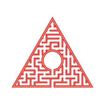 Abstact labyrint.