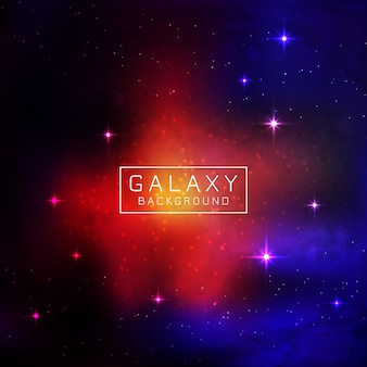 Abstarct galaxy achtergrond