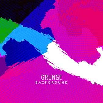 Abstarct kleurrijke grunge achtergrond