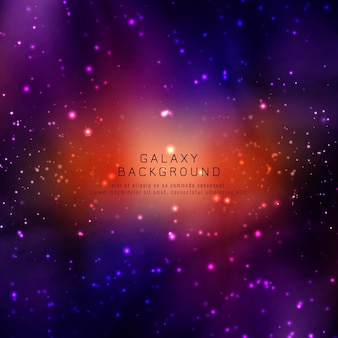 Abstarct moderne galaxy achtergrond