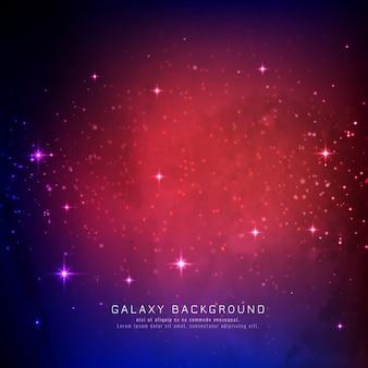 Abstarct stijlvolle galaxy achtergrond