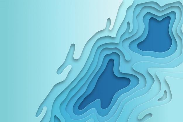 Abstrack blauwe achtergrond