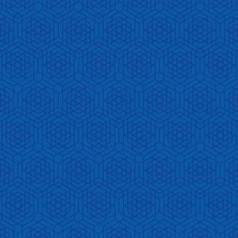 Abstract achtergrondgebruikspatroon van zeshoek