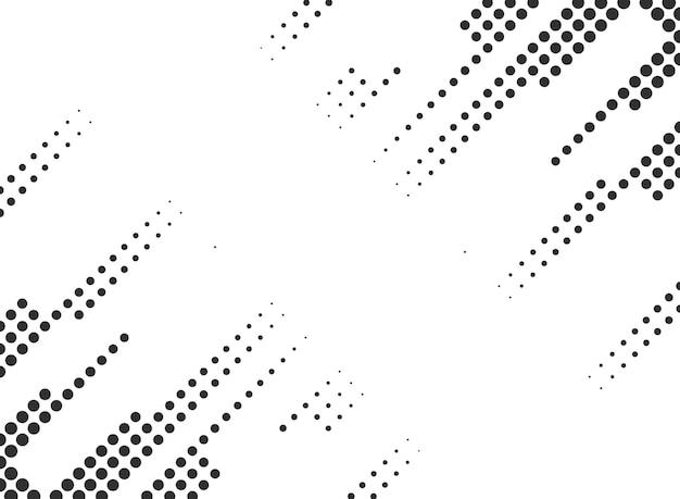 Abstract afgerond halftoon frame met dubbele hoek
