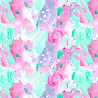 Abstract aquarel patroon