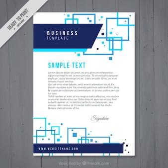 Abstract bedrijf briefpapier