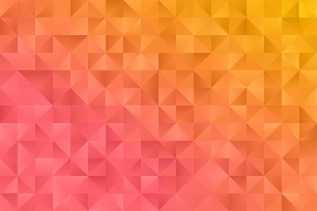 Abstract behang als achtergrond. kleurrijke driehoek veelhoek zeshoek premium vector