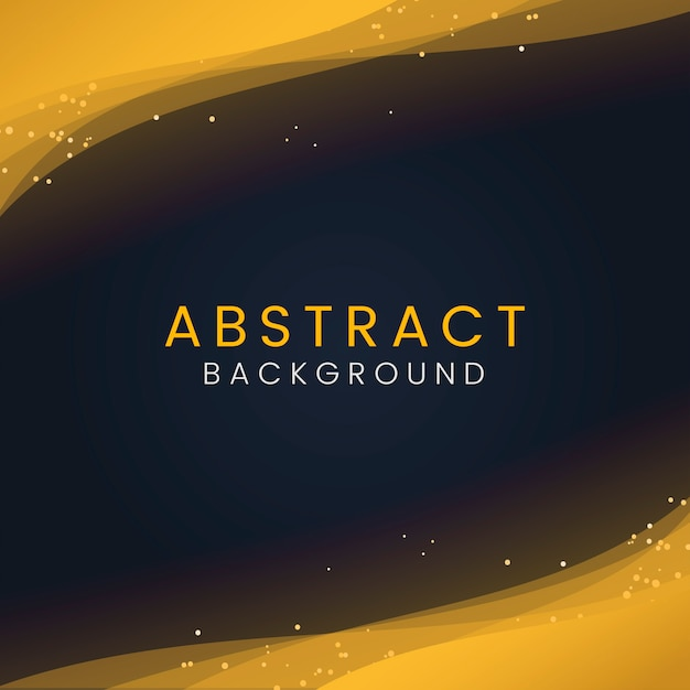 Abstract behang met decoratieve gouden glitter deeltjes