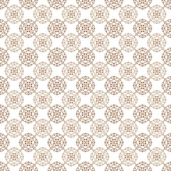 Abstract bloemen decoratief naadloos patroon