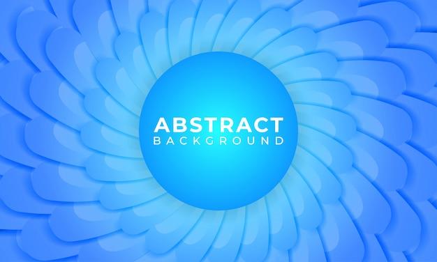 Abstract blue gradient vorm achtergrond