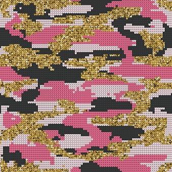Abstract breien naadloze textuur