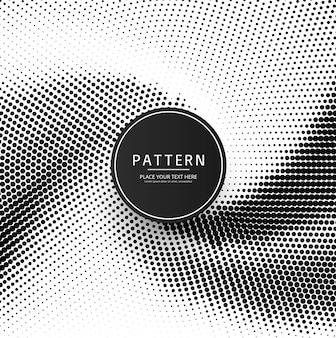 Abstract creatief halftone patroonontwerp