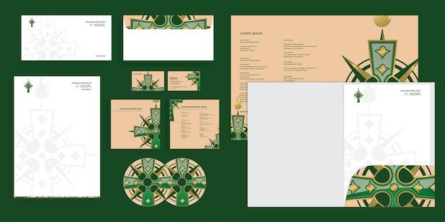 Abstract cross religie christelijk modern zakelijk zakelijk identiteit stationair