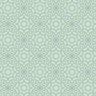 Abstract decoratief naadloos patroon