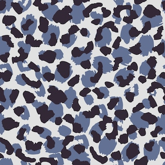 Abstract dierenbontbehang. luipaard huid naadloze patroon textuur.