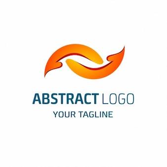 Abstract donatie logo