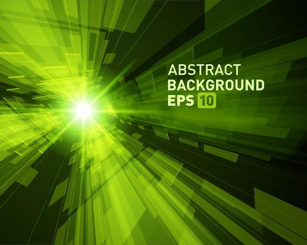 Abstract effect van de achtergrond virtueel werkelijkheids 3d ruimtemat raster.