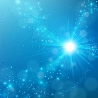 Abstract elegant blauw glans achtergrond